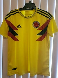 yellow and red Adidas jersey shirt Coral Springs, 33065