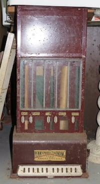 Antique Subway Vending Machine Hicksville