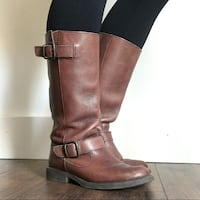 Steve Madden Size 7.5 real leather riding boots Lehi, 84043