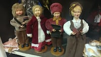4 piece Christmas carolers set Forest Hill, 21050