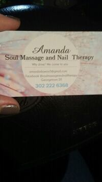 Spa services Georgetown