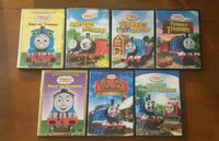 7 Thomas and Friends DVDs