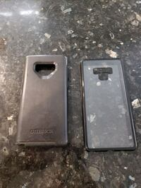 Note 9  Otterbox and clear case