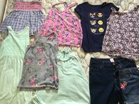 Girls' Clothing. Size 14.  Good condition.  Barely worn.  Tanks and shorts.  Old Navy . Catlett, 20119
