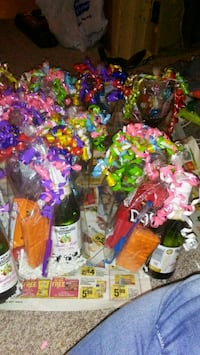 assorted-color gift packages