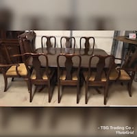 HUGE Ethan Allen dining table set  Concord, 28027