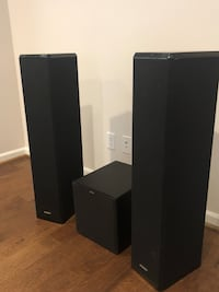 Energy towers and subwoofer set. Sounds amazing  Kent, 98031