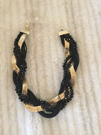 New Black & Gold Necklace