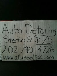 Car detailing Greenbelt, 20770