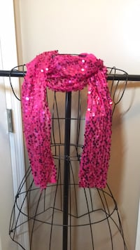 Pink sequined scarf  East Ridge, 37412