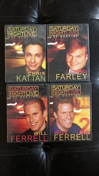 SNL Collection DVD's