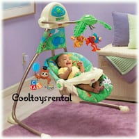 Rainforest Swing Away Mobile Vienna, 22180