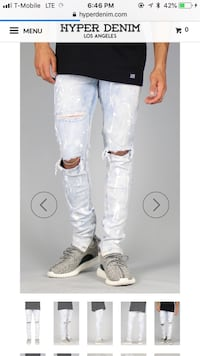 Ripped Skinny Jeans Size 30 Arlington, 22207