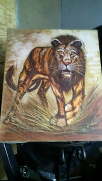 Lion Oil painting Fort Washington, 20744