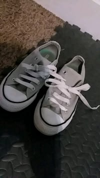 pair of white Converse All Star low-top sneakers Wright City, 63390