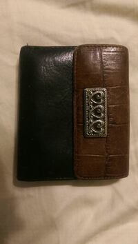black and brown leather wallet San Antonio, 78247
