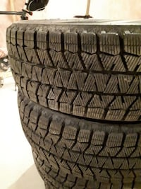 4 Almost new Blizzac Snow Tires  Barrie, L4N 3L3