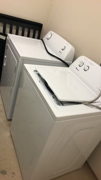 White washer and dryer set Charlotte, 28216