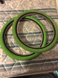 Like green Haro bmx tires