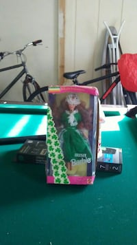 Irish Barbie doll with box