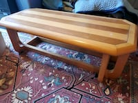 Solid wood Coffee Table and Two side tables Mississauga, L5G 1N8