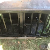 Solid steel hunting dog cage  Burnettown, 29851
