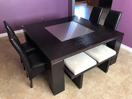 Dining Room Table with seating for 8