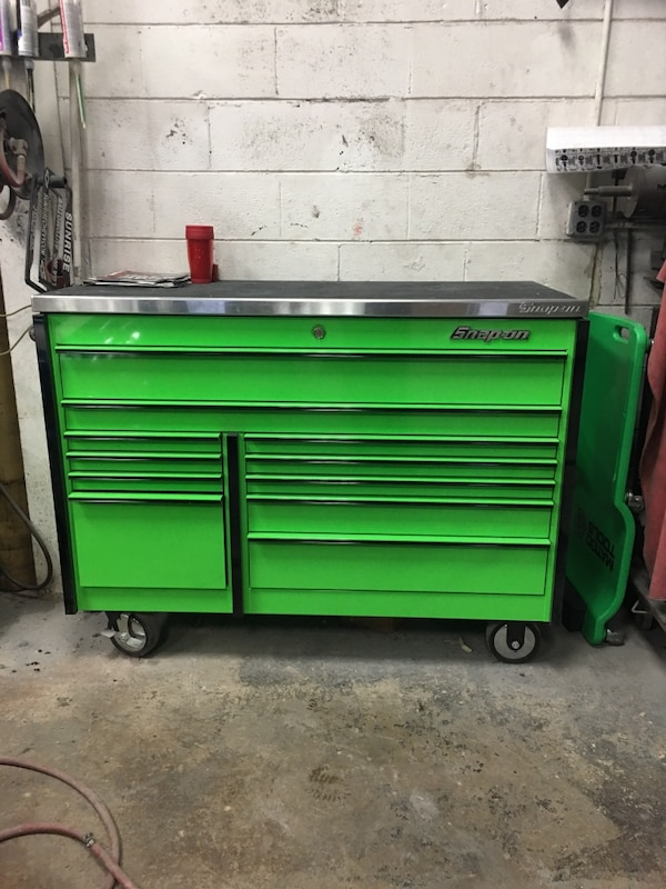 Green Snap On Tool Chest