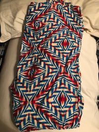 TC red white and blue Lularoe leggings  Hagerstown