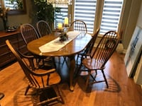 Dinning table with 6 chairs Burlington, L7R 2C8