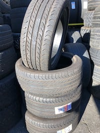 """Staggered 18"""" continental set  Los Angeles, 90003"""