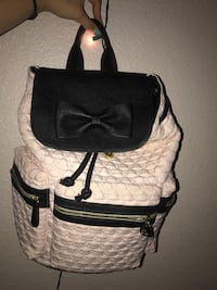 white and black leather crossbody bag North Las Vegas, 89032