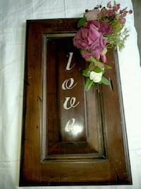 Loveliest Wooden vintage LOVE Decoration