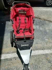 red and black jogging stroller Miami, 33135