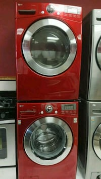Washer and dryer LG