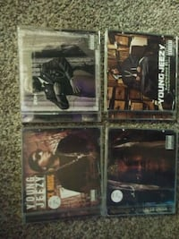 4 young jeezy cds St. Catharines, L2T 2T6