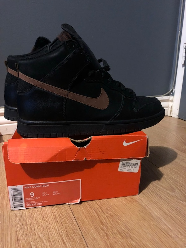 MUST GO! GREAT CONDITION NIKE SB DUNK HIGH black