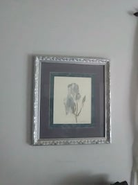 square white and gray floral photo frame Kannapolis, 28083