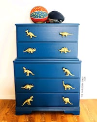 Dresser with Dinosaur Knobs Apopka
