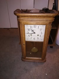 Waltham Wooden Mantel Clock With Chime Philadelphia