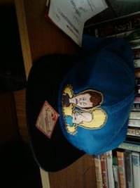 blue and black Beavis and Butthead fitted cap Fresno, 93703