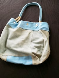 baby's blue and brown carrier Kingston, 73439