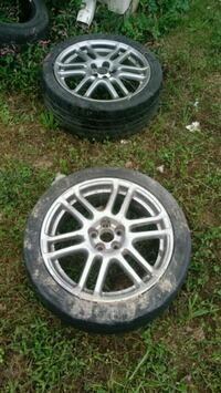 Two 17 inch rims 5x114.3 Winchester, 22602