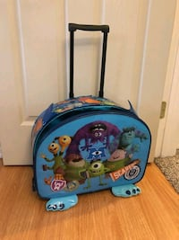 Monsters Inc suitcase luggage