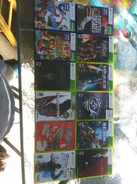 assorted-title Xbox 360 game case lot Anaheim, 92801