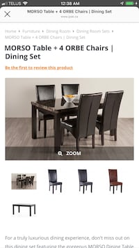 Dining Set for only $50