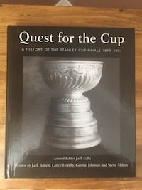 Quest for the Cup : History of the  Stanley Cup Hardcopy Booklet Aurora, L4G 3K4