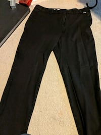 black straight cut pants Richmond, V7E 4Y7