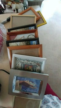 four brown wooden photo frames Monee, 60449