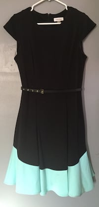 Calvin Klein Pleated Fit/Flare Dress(size 10) Conyers, 30094